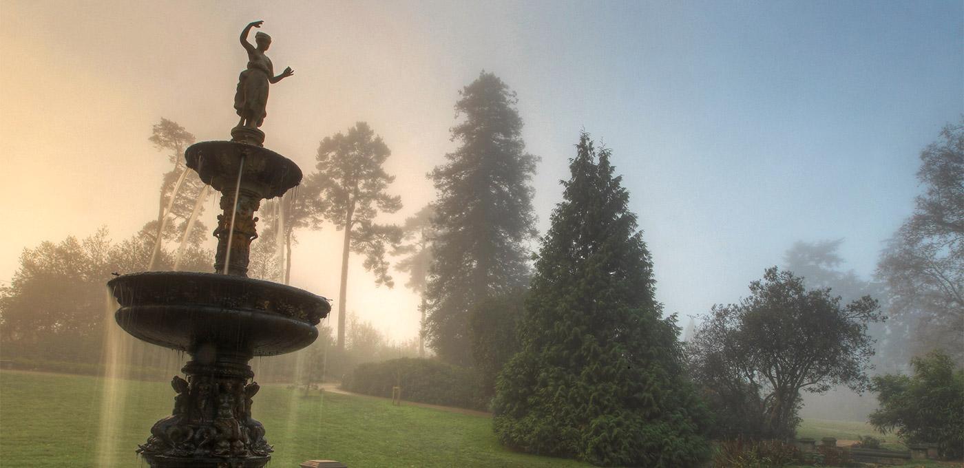 Berkeley, Royal Wells Park, Fountain, Local Area
