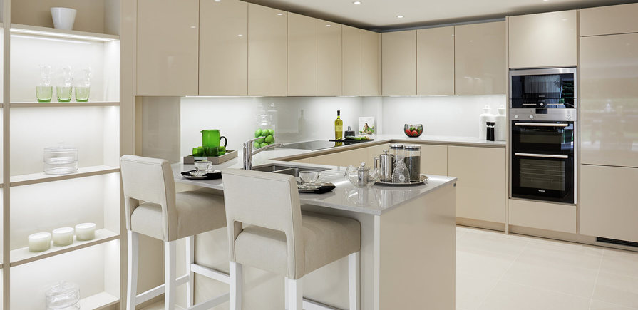 Berkeley, Royal Wells Park, Interior, Plot 4, Kitchen