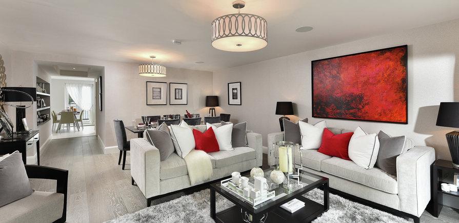 Berkeley, Royal Wells Park, Interior, Property 57, Living Room
