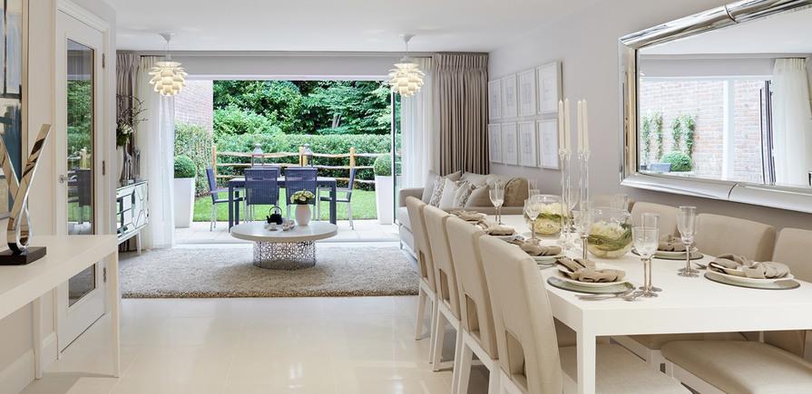 Berkeley, Royal Wells Park, Interior, Living Room and Kitchen Header