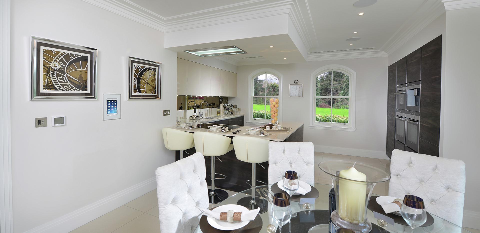 Berkeley, St Josephs Gate, Show Apartment, Kitchen Area, Interior