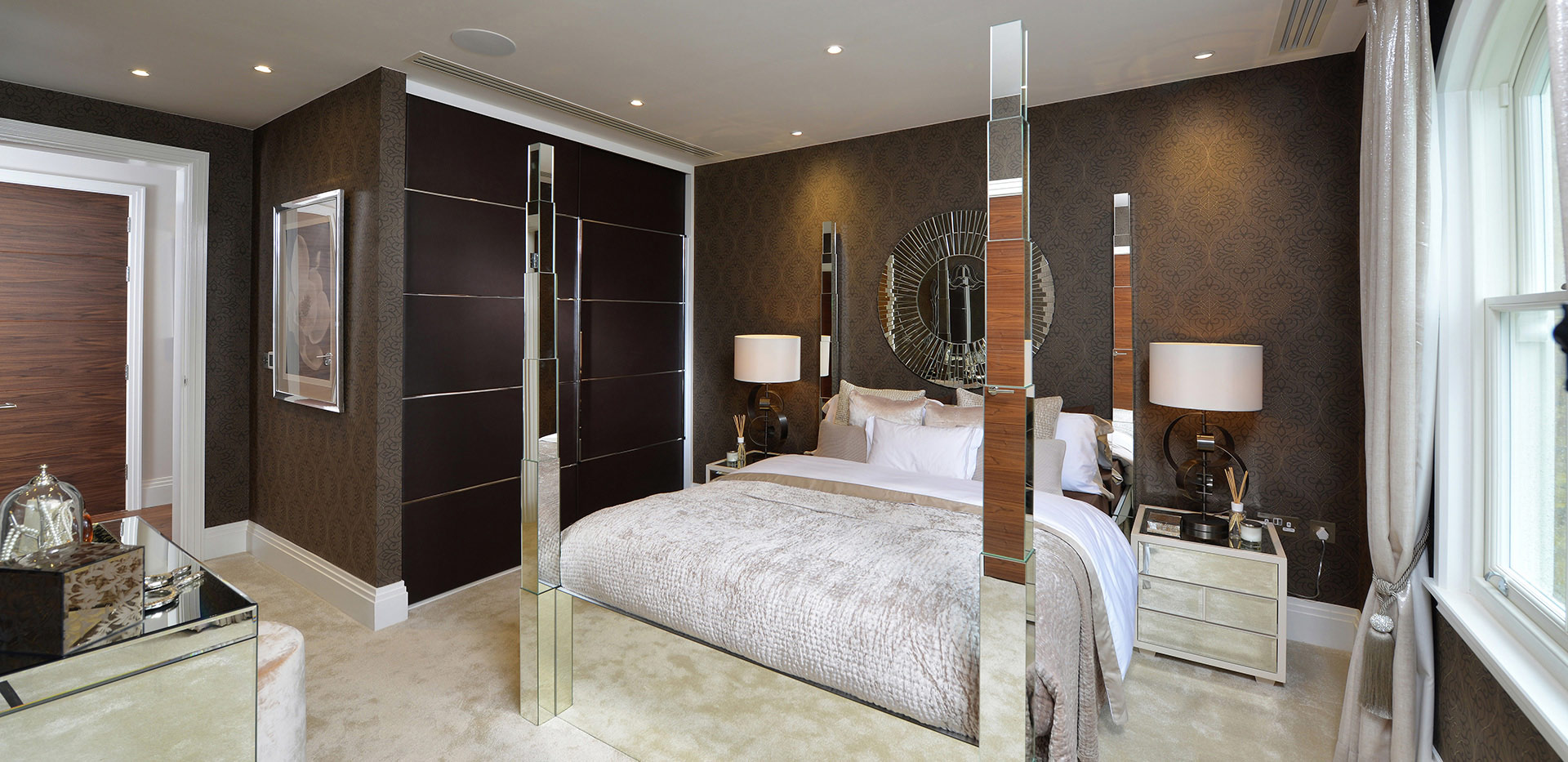 Berkeley, St Josephs Gate, Show Apartment, Master Bedroom, Interior