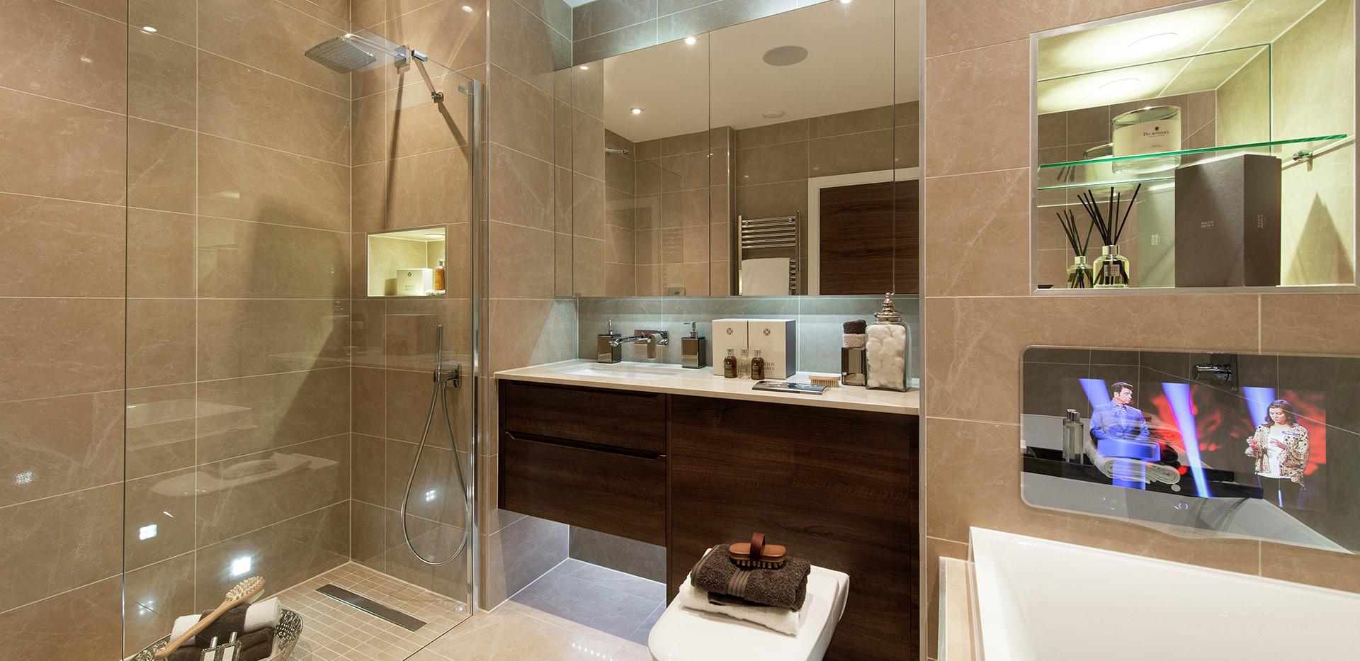 Berkeley, St Josephs Gate, Show Apartment, Master Ensuite, Bathroom, Interior