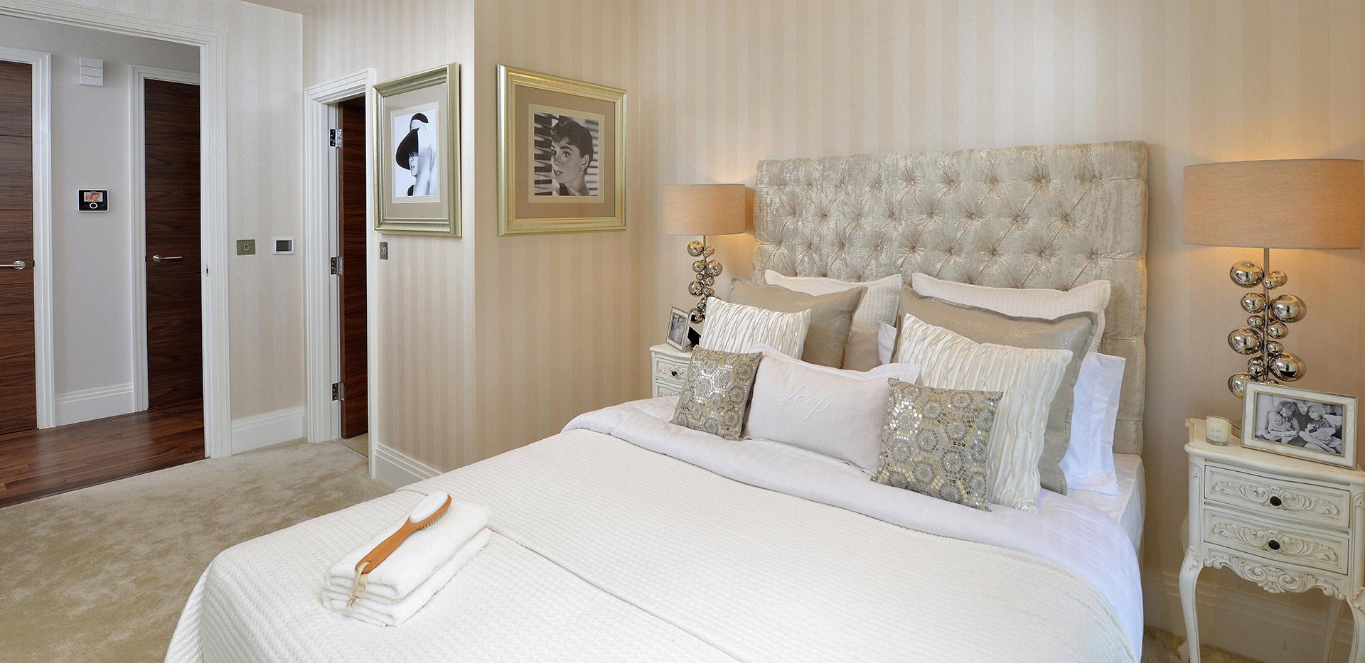 Berkeley, St Josephs Gate, Show Apartment, Guest Suite, Interior