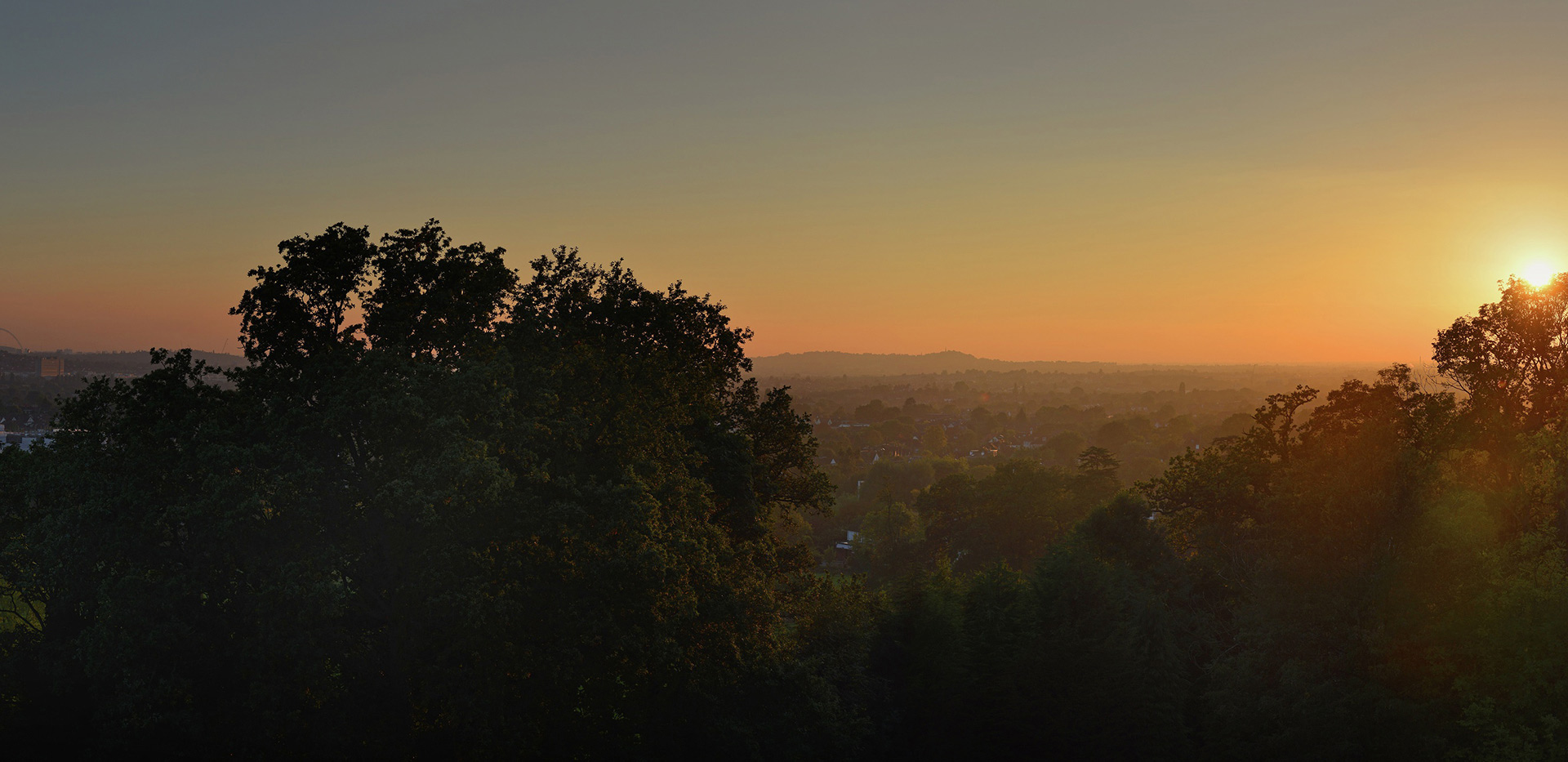 Berkeley, St Joseph's Gate, Sunset View