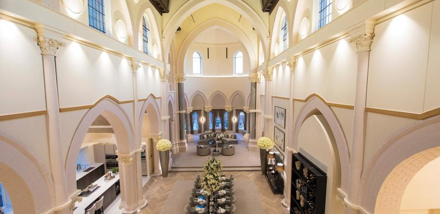 Berkeley, St Joseph's Gate, The Chapel, Interior, Guest Suite View