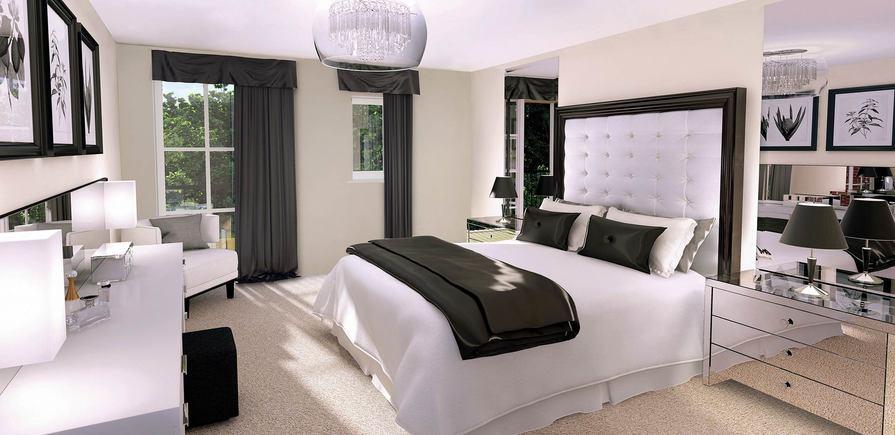 Berkeley, Taplow Riverside, Interior, Indicative CGI, Bedroom