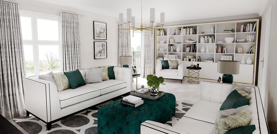 Berkeley, Taplow Riverside, Interior, Living Room