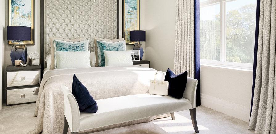 Berkeley, Taplow Riverside, Interior, Master Bedroom