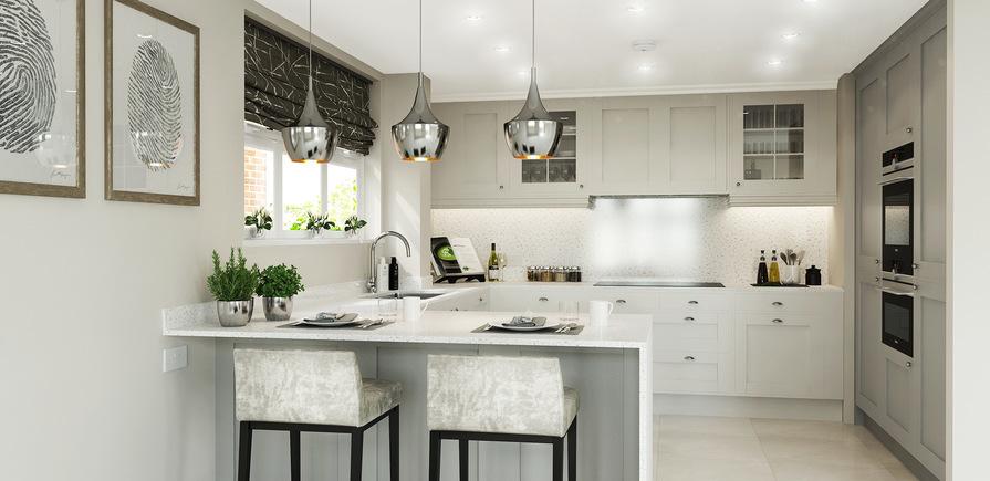 Berkeley, Taplow Riverside, Jubilee Meadows, Interior, Kitchen