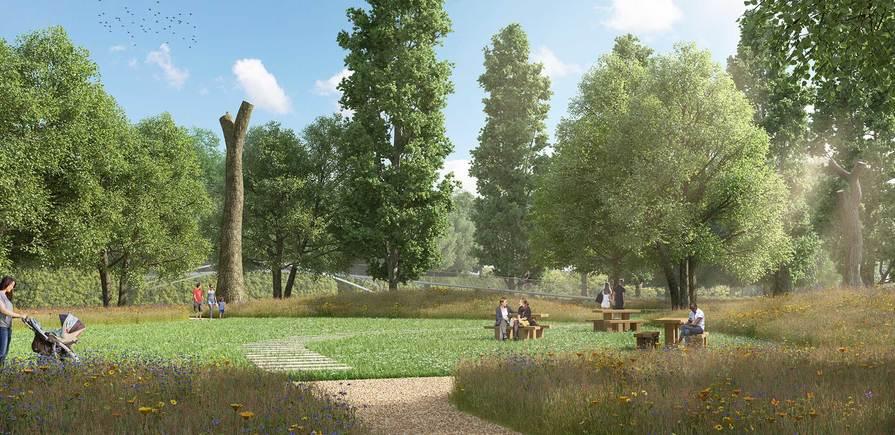Berkeley, Taplow Riverside, Jubilee Meadows, Garden, Exterior