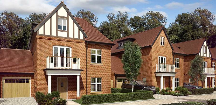 Berkeley, Taplow Riverside, Jubilee Meadows, Plot 86, 87 and 88, Indicative, Exterior
