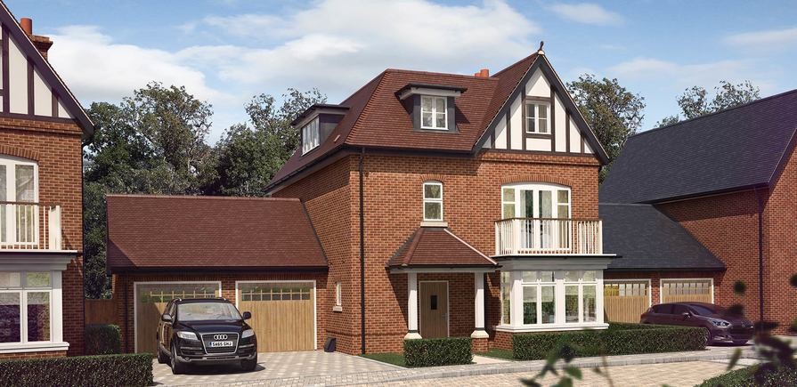 Berkeley, Taplow Riverside, Jubilee Meadows, Plot 96, Indicative, Exterior
