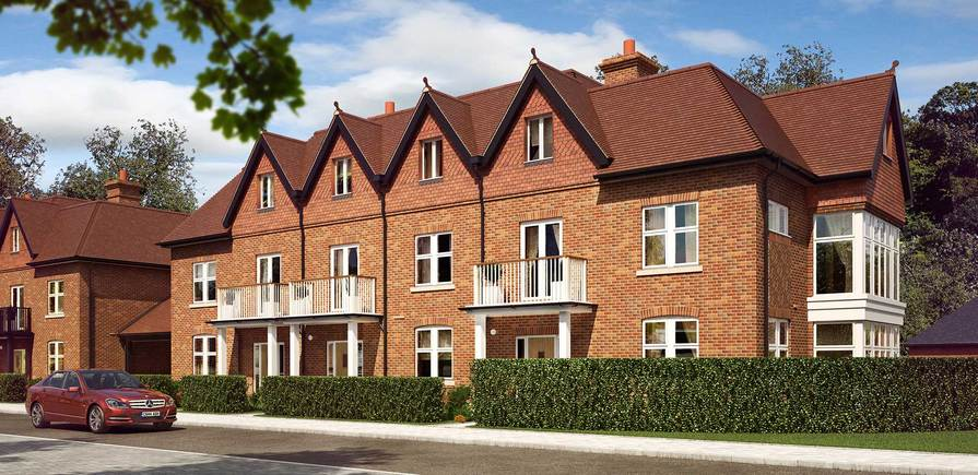 Berkeley, Taplow Riverside, Jubilee Meadows, Plot 121, 122 and 123, Indicative, Exterior