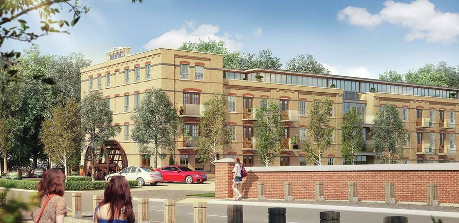 Berkeley, Taplow Riverside, Exterior, Apartments