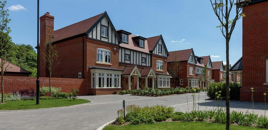 Berkeley, Taplow Riverside, Jubilee Meadows, Showhome, Exterior