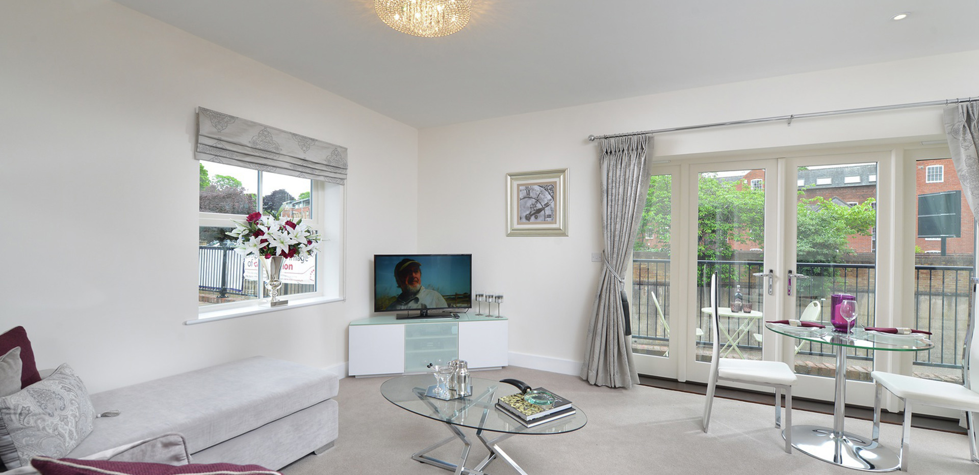 Berkeley, The Waterside at Royal Worcester, Showhome, Living Room, Interior
