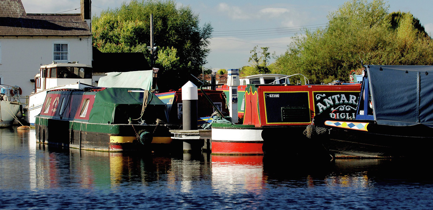 Berkeley, The Waterside at Royal Worcester, Barges, Diglis Basin, Canal, Local Area