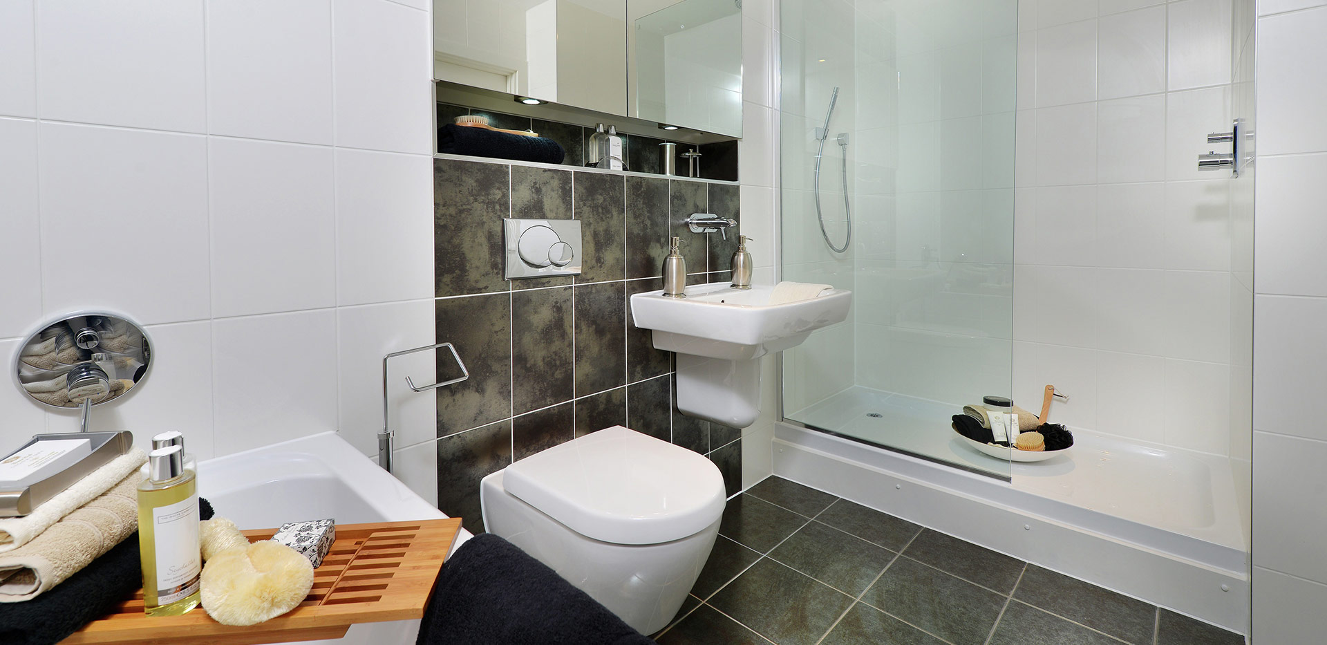 Berkeley, The Waterside at Royal Worcester, Interior, Bathroom, Plot 579