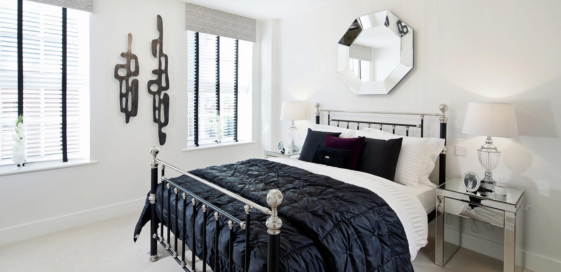 Berkeley, The Waterside at Royal Worcester, Interior, Bedroom, Plot 531