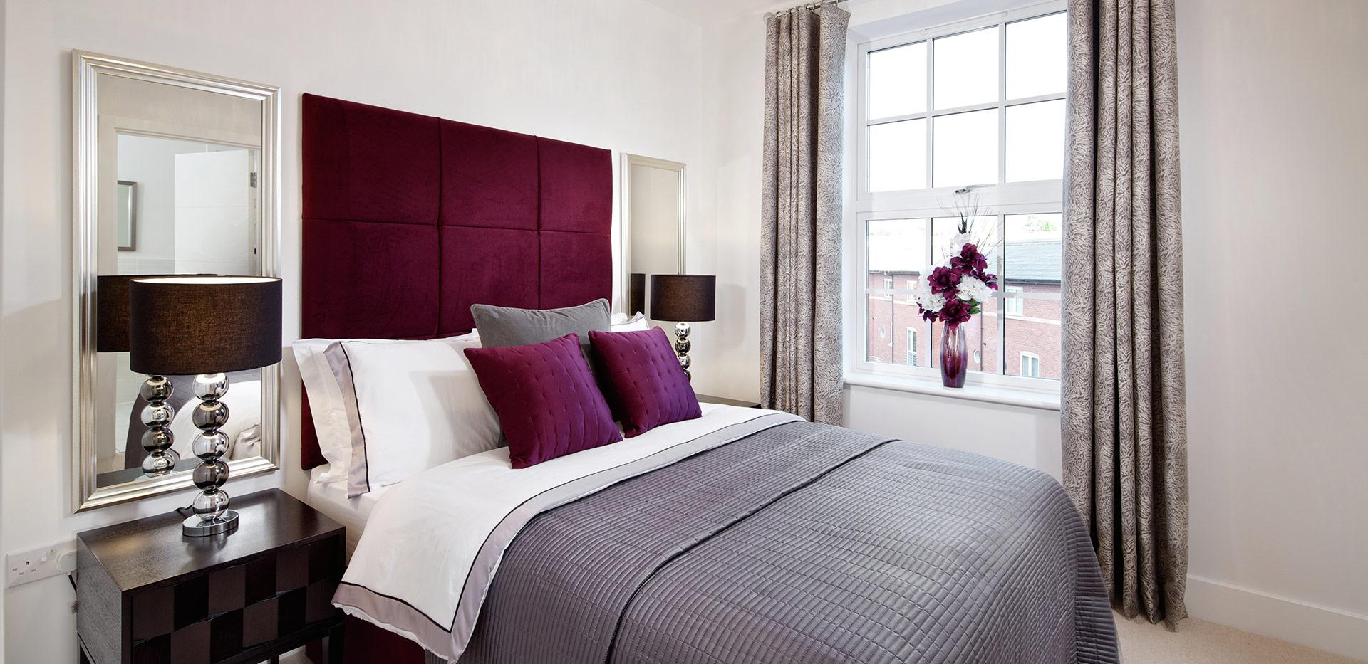 Berkeley, The Waterside at Royal Worcester, Interior, Bedroom, Plot 557