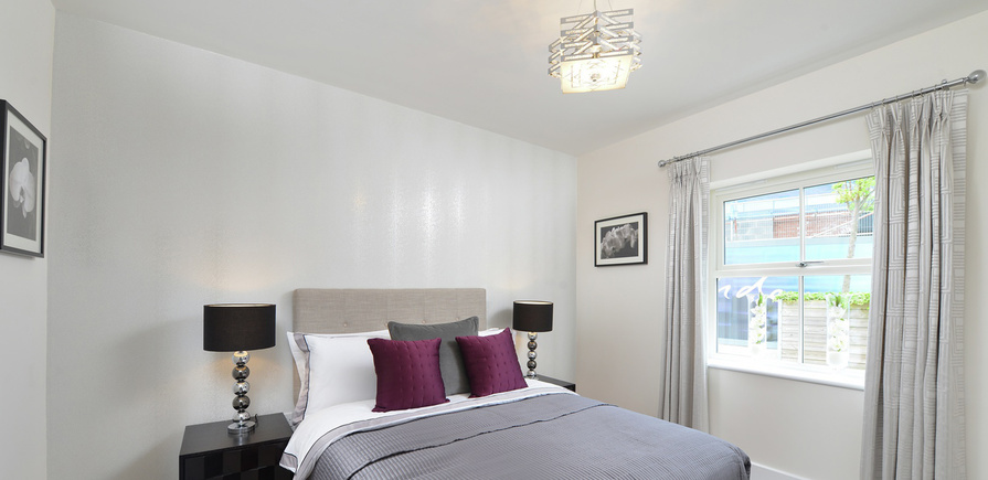 Berkeley, The Waterside at Royal Worcester, Showhome, Bedroom, Interior