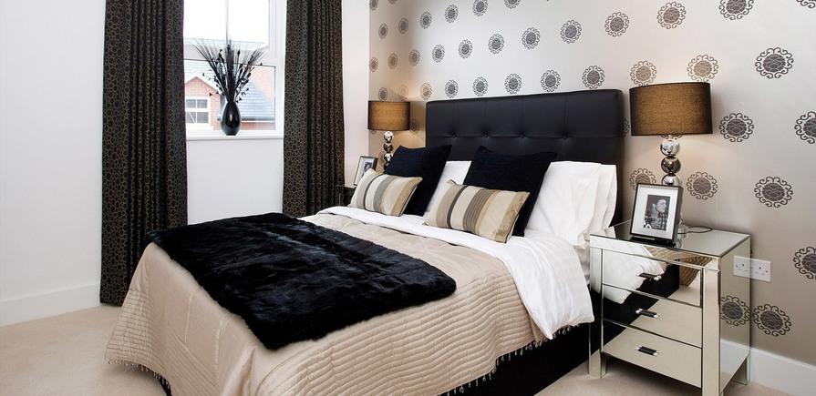 Berkeley, The Waterside at Royal Worcester, Bedroom, Interior