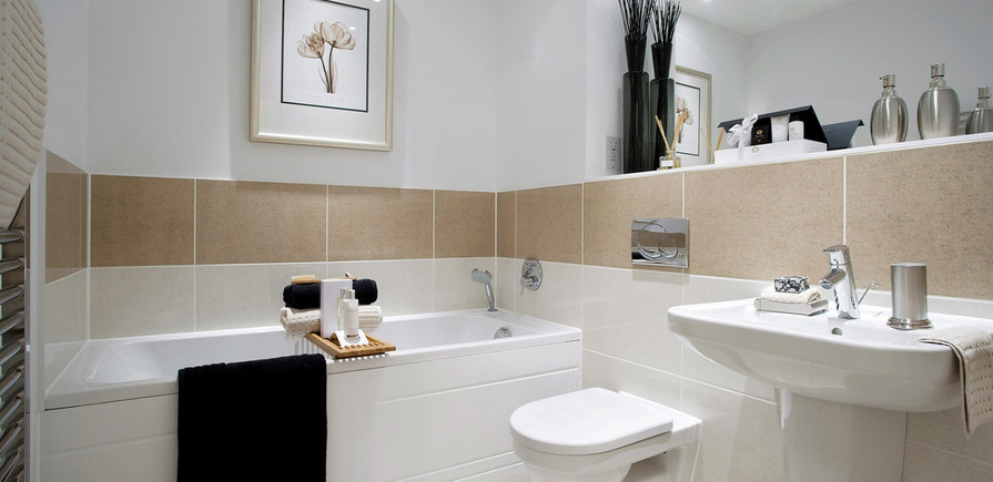 Berkeley, The Waterside at Royal Worcester, Bathroom, Interior
