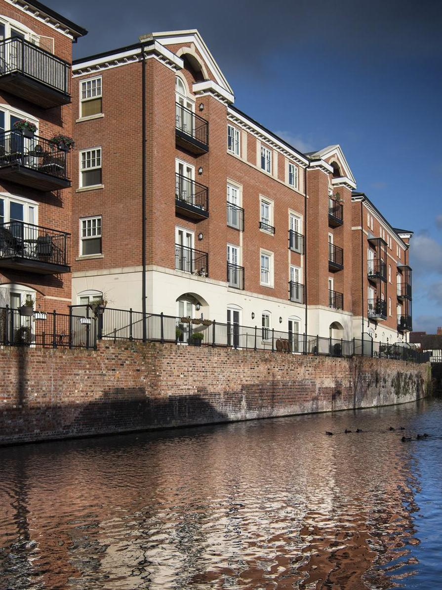 The Waterside at Royal Worcester in Worcester is built by Berkeley