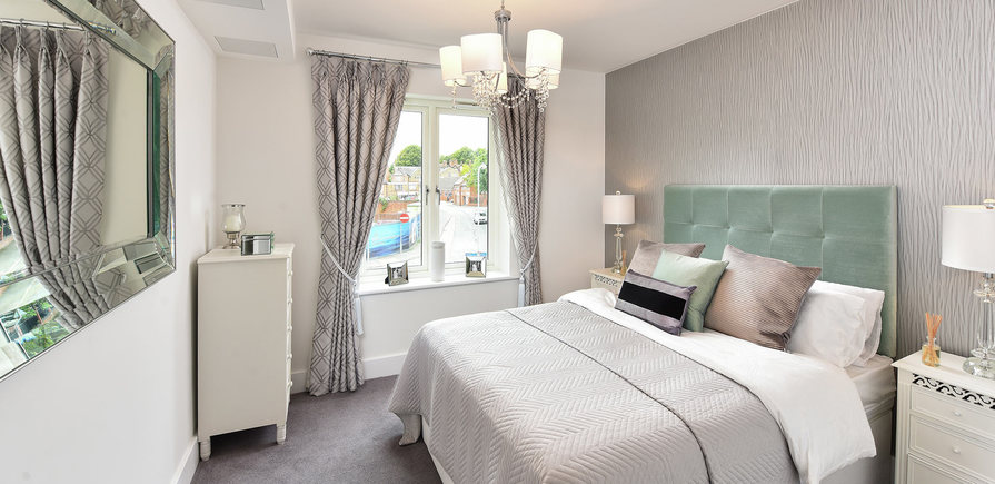 Berkeley, The Waterside at Royal Worcester, Showhome, Interior, Master Ensuite