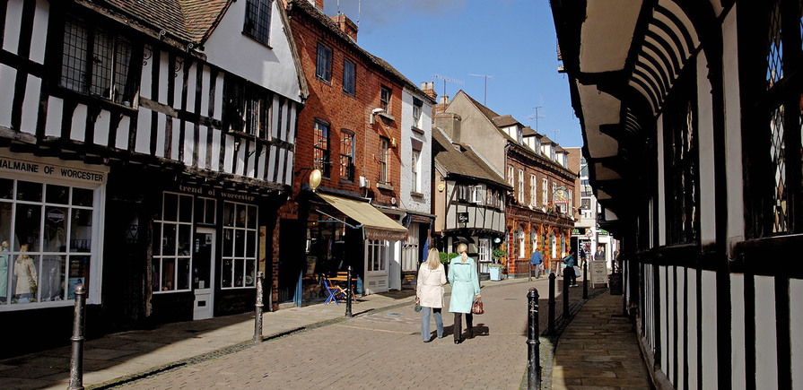 Berkeley, The Waterside at Royal Worcester, High Street, Local Area