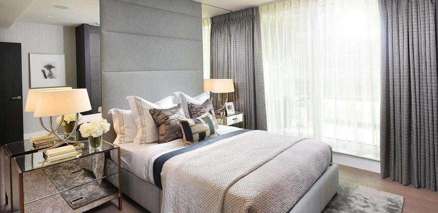 Berkeley, Vista, Bedroom