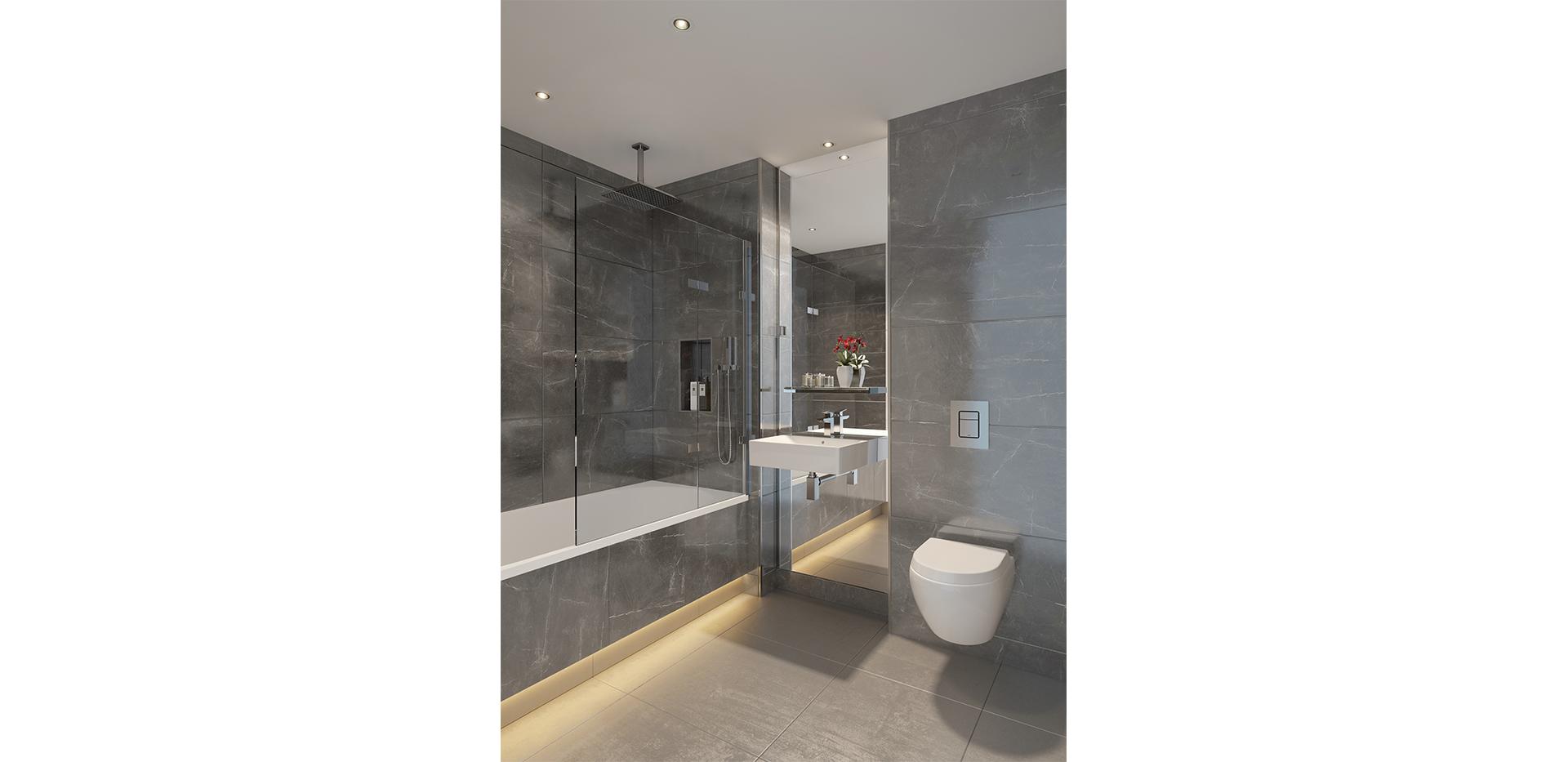 Berkeley, Vista, Bathroom, Interior