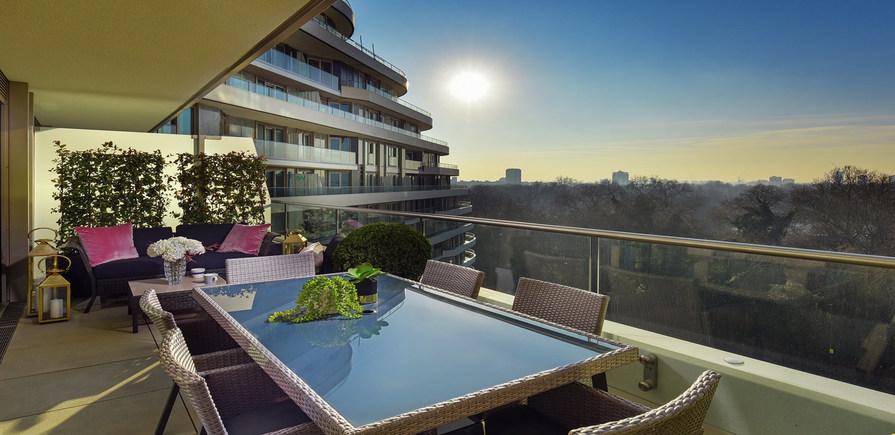 Berkeley, Vista, Balcony