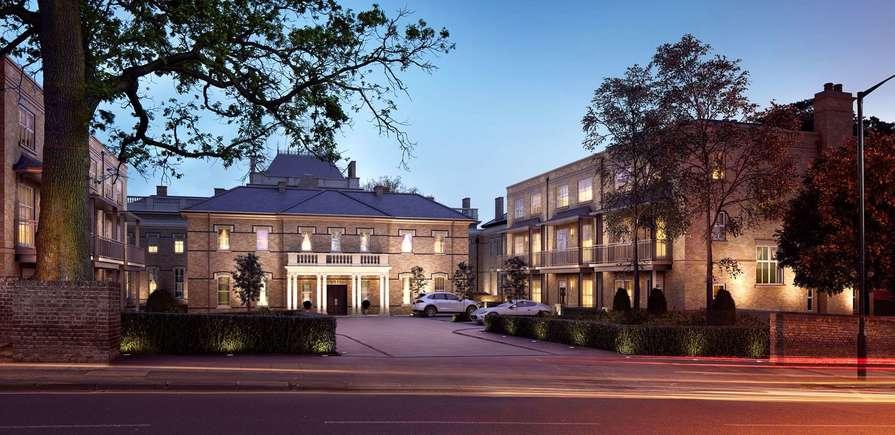 Berkeley, Wimbledon Hill Park, Cedar Place, Header