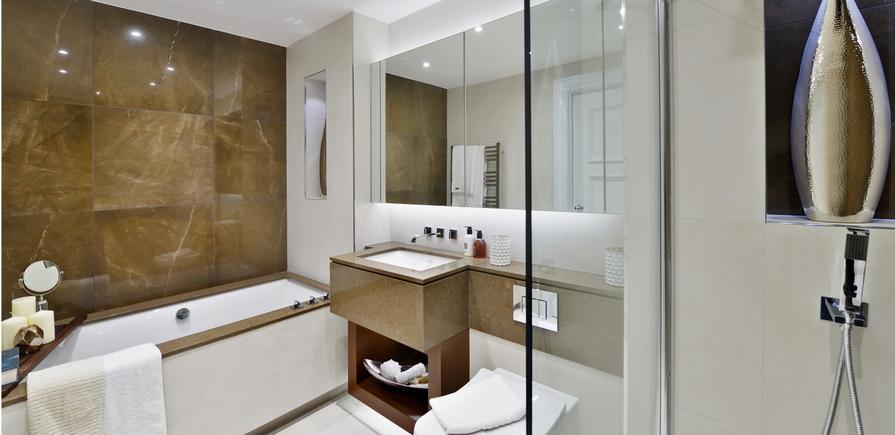 Berkeley, Wimbledon Hill Park, Interior, Bathroom