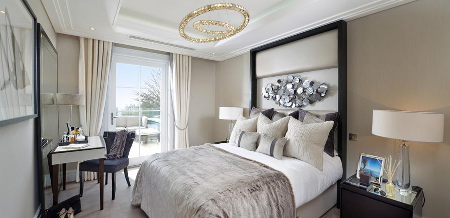Berkeley, Wimbledon Hill Park, Interior, Bedroom