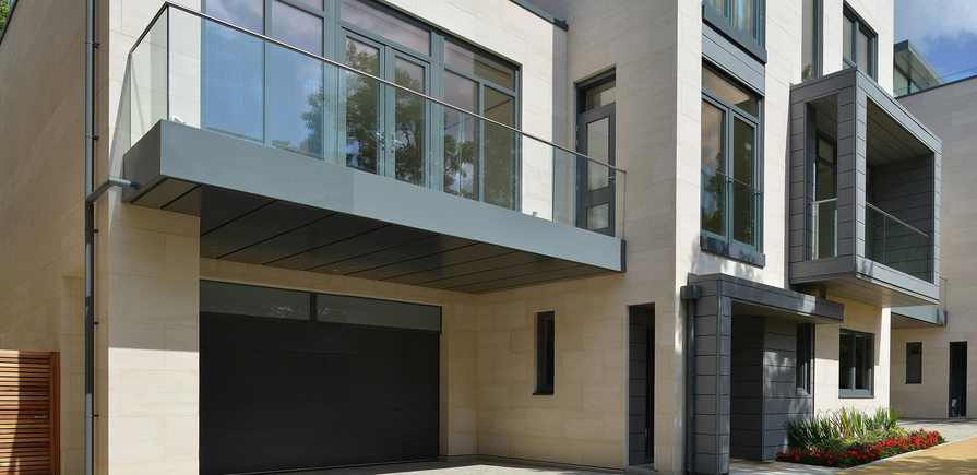 Berkeley, Wimbledon Hill Park, House, Exterior