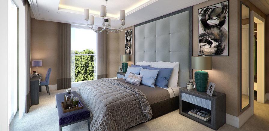 Berkeley, Wimbledon Hill Park, Bedroom