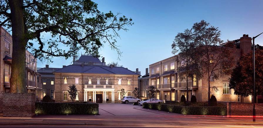 Berkeley, Wimbledon Hill Park, Exterior, CGI