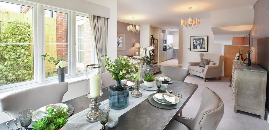 Berkeley, Woodhurst Park, Living, Dining, Interior