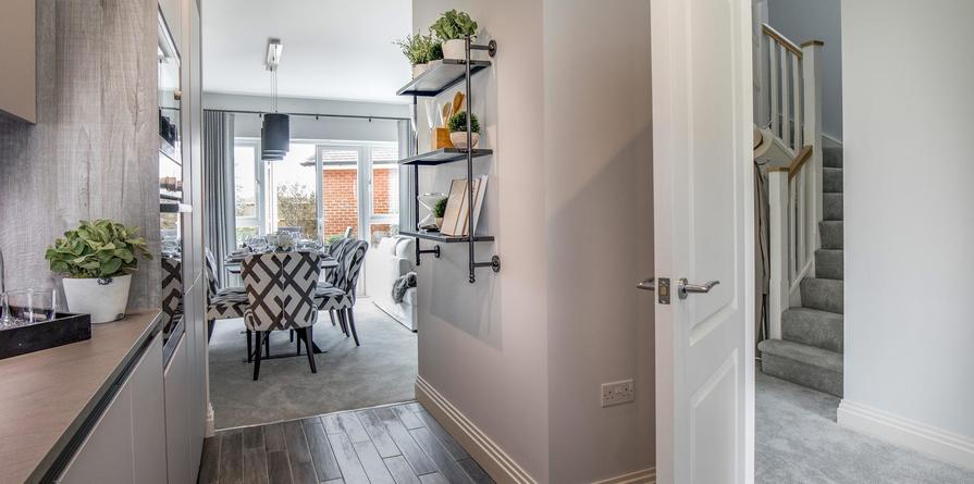 Berkeley, Woodhurst Park, Property 19 Living Room, Interior