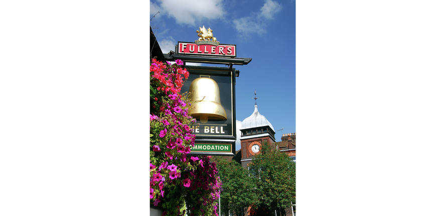 Berkeley, Wye Dene, Fullers The Bell Pub, Local Area