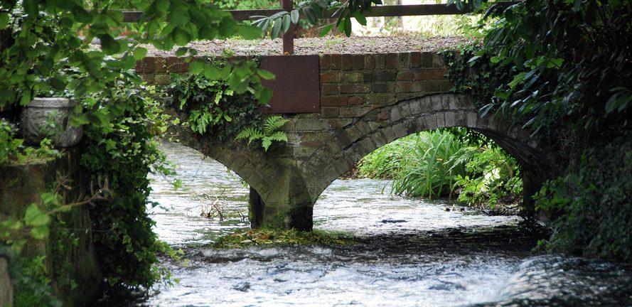 Berkeley, Wye Dene, Bridge, Water, Local Area
