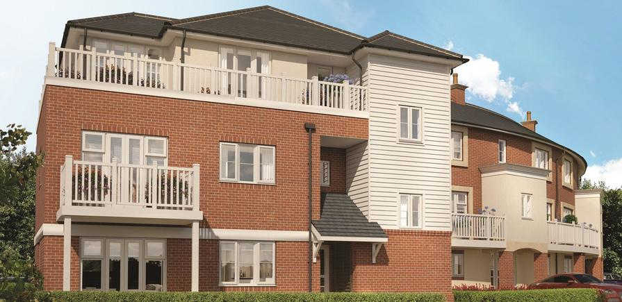 Berkeley, Wye Dene, Apartments, CGI N3