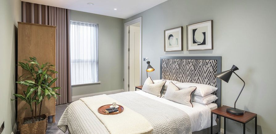 Berkeley, Chiswick Gate, Apartments Interior, Living, Kitchen 03