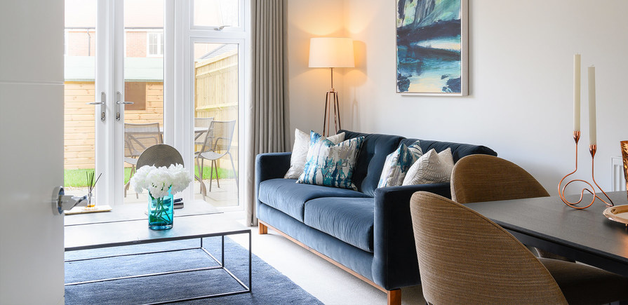 Berkeley, Edenbrook Village, Showhome, Dining and Living