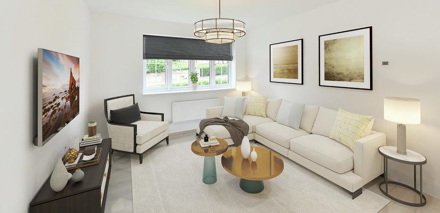 Berkeley, Royal Wells Park, Kings Avenue, Interior, Living/Dining