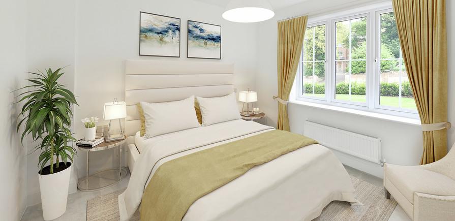 Berkeley, Royal Wells Park, Kings Avenue, Interior, Master Bedroom