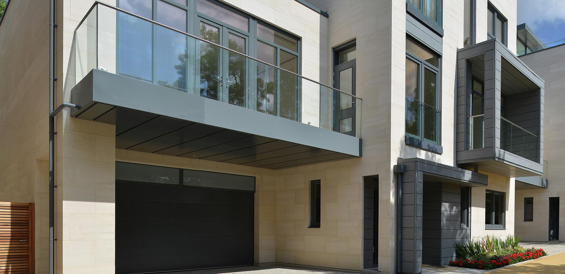 Berkeley, Wimbledon Hill Park, Interior, Wellington Row, Living Room